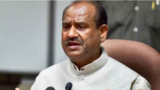 out-side-parliament-rasing-question-not-good-om-birla