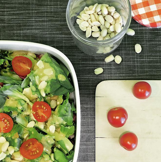 12von12, Salat, Mittagessen