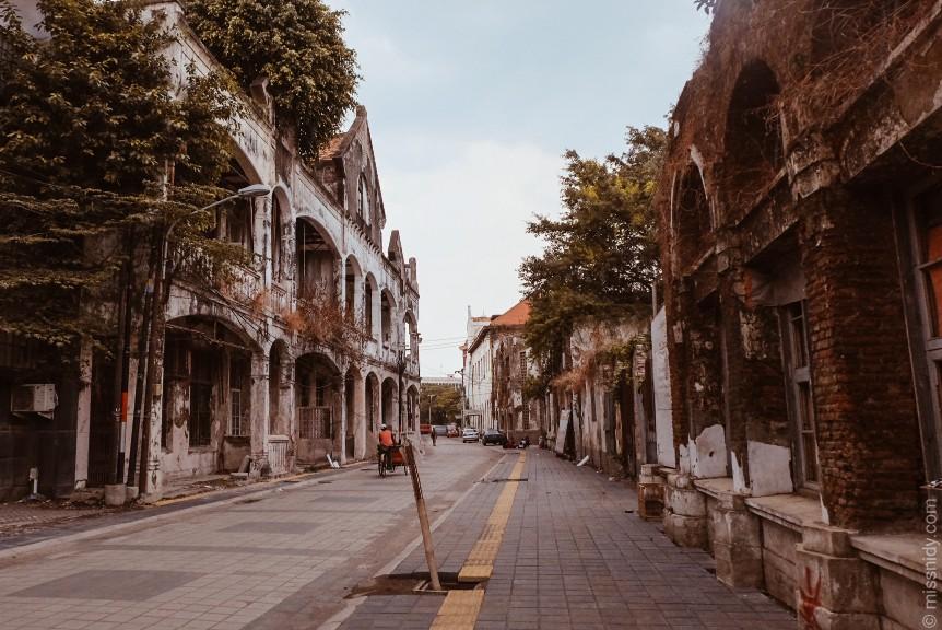 foto-foto di kota lama semarang