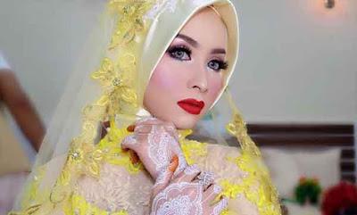 model kerudung pengantin 8