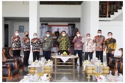 Gubernur Arinal Gandeng Kannwil DJP Bengkulu Lampung Untuk Sukseskan Smart Village