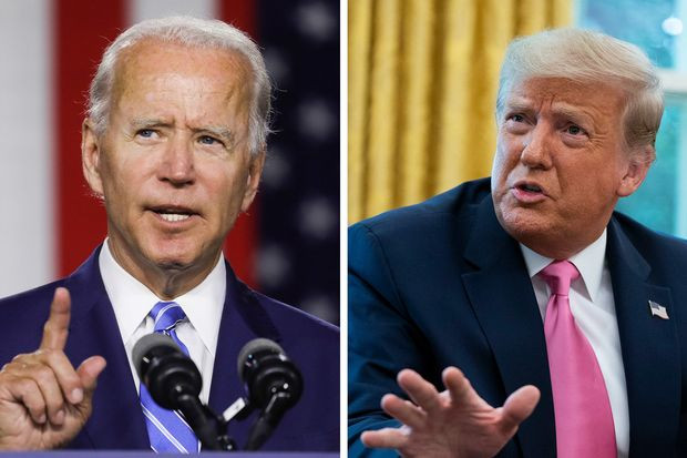 Joe Biden calls Donald Trump 'America's first racist president'