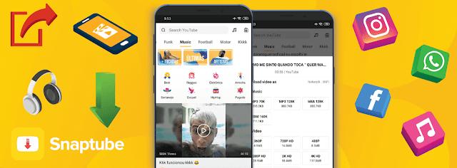 تطبيق مجاني لتحميل الفيديوهات والموسيقى