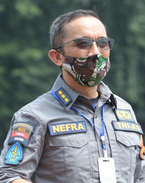 Kepala Dinas Penerangan AD Brigadir Jenderal TNI Nefra Firdaus