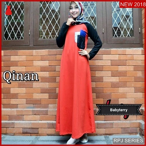 RPJ015D286 Model Dress Qinan Cantik Dress Wanita