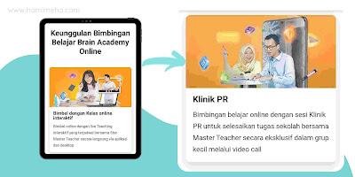 Fitur klinik PR brain academy online