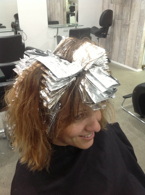 Foil Techniques For Highlighting Hair Hairs Picture Gallery