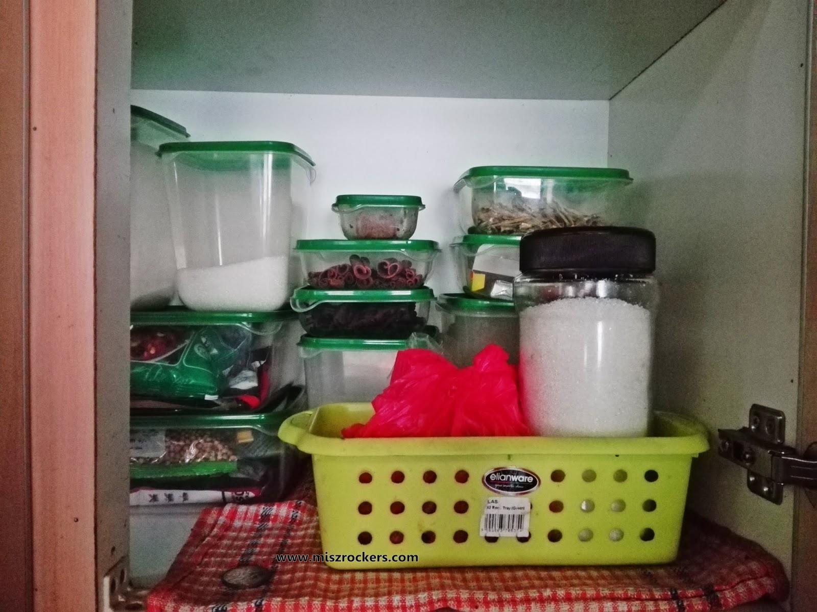 Part Bahagian Dapur Memang Kena Kemas Selalu La Dah Hari Ngadap Kira Terapi Bagi Nad Bila Nampak Semua Barang Tersusun Seragam Dan