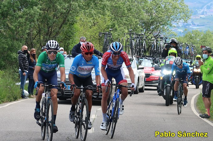 Las fotos de la 3ª etapa de la Vuelta a Asturias - Fotos Pablo Sánchez