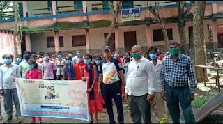 फिट इंडिया मूवमेंट के तहत आज रोहतास जिला के नोखा में युवाओं ने मार्च निकाला।