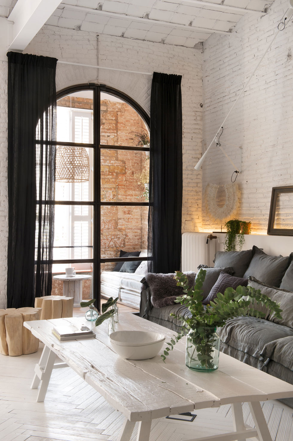 Interior Design Charming Space A Loft In Barcelona Cool Chic Style Fashion