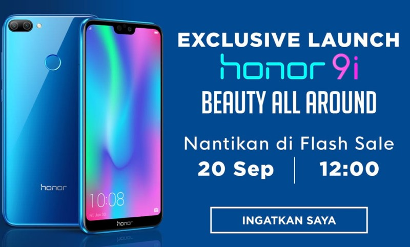 Flash Sale Honor 9i - Shopee.co.id