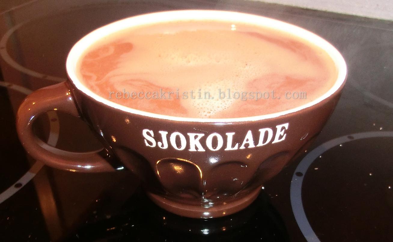 sjokoladesaus med kakao