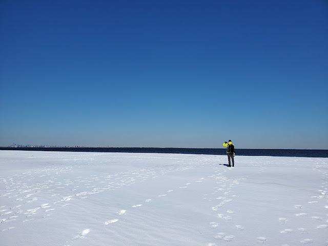 Sandy Hook snow