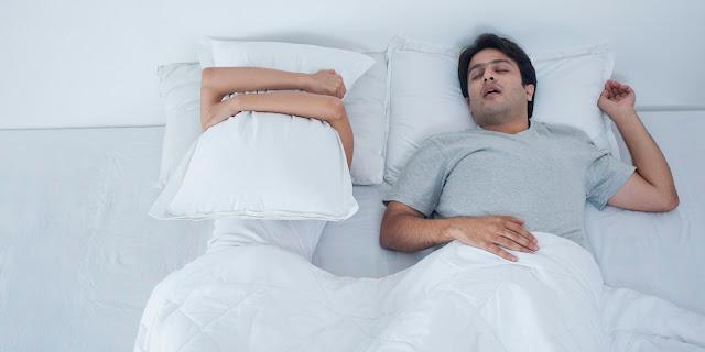 tingkat kualiti tidur, cegah dengkur, tips kurangkan dengkur, cara atasi dengkur, cara mencegah dengkur, asonor, bahaya dengkur,