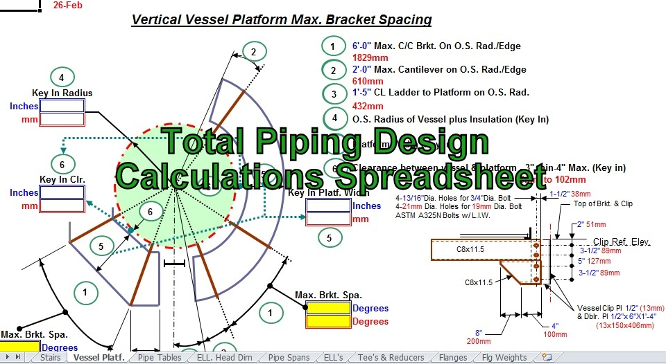 www pdfstall online: Total Piping Design Calculations
