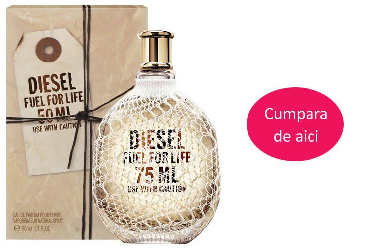Parfum femei Diesel, Fuel for life, 30 ml, original REDUCERE