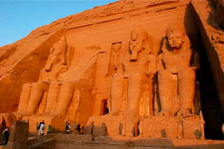 Abu Simbel Temple Sunrise Egypt