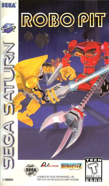 Robo Pit ISO Sega Saturn