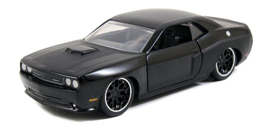 coleccion rapido y furioso, coleccion rapido y furioso jada tyos, coleccion rapido y furioso 1/32, Dom's Dodge Challenger SRT8