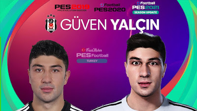 PES 2021 Faces Güven Yalçın by PES Football Turkey