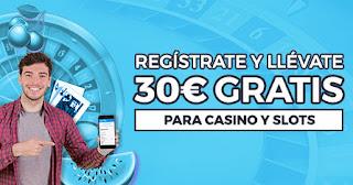 Paston Consigue 30€ para Casino online sin depósito