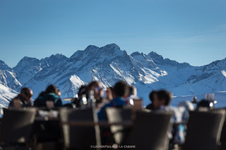 la Cabane - Restaurant d'altitude - Alpe d'Huez - photo ©Laurent Salino