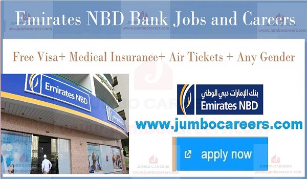 Emirates NBD Bank Jobs and Careers 2019 Free Staff Recruitment