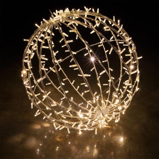 Aprende cmo hacer bolas gigantes para decorar en navidad ...