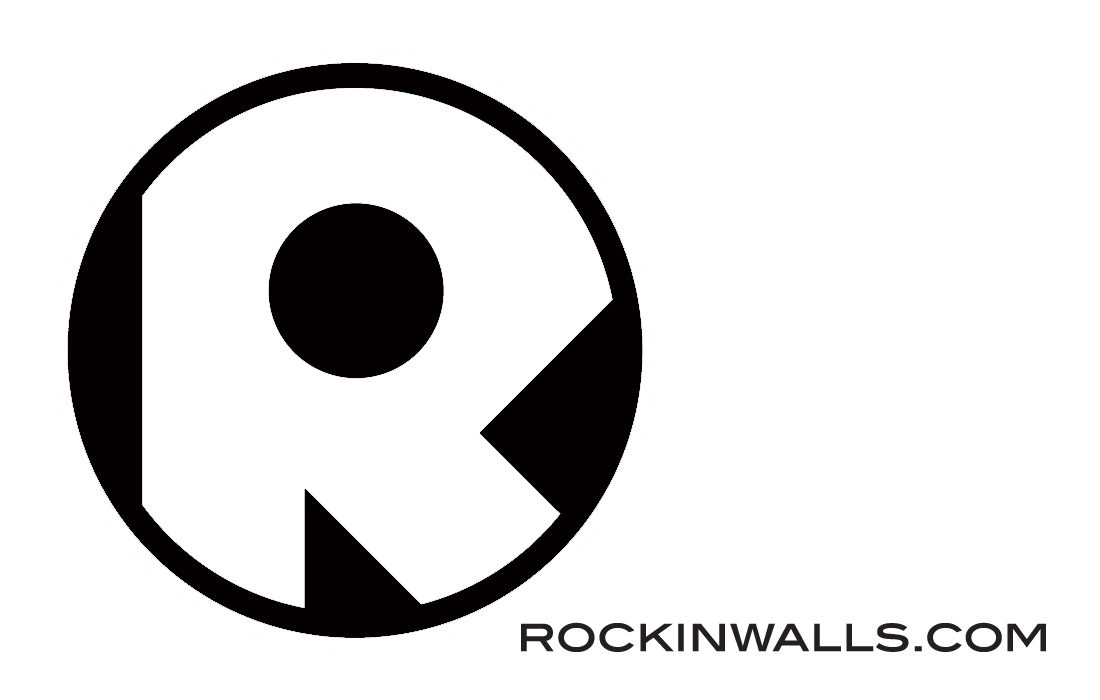 ROCKIN WALLS: NEW LOGO