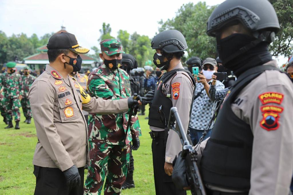 Kapolda Jateng Beri Tanggapan Terkait PSBB Jawa-Bali