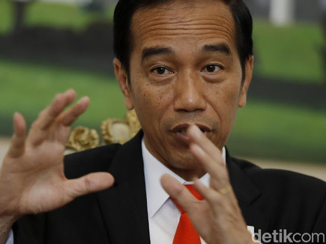 Jokowi Sebut FPI Bisa Dilarang Jika Tak Sejalan dengan Ideologi Bangsa