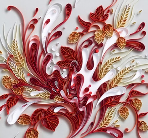 16-Quilling Portraits Russian Yulia Brodskaya Advertising -www-designstack-co