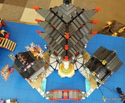 LEGO Ninjago Temple Of Airjitzu set 70751 overhead
