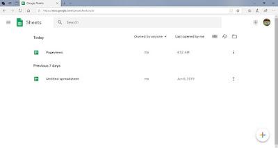 Google Sheets Dashboard