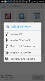 Searching Printer Available