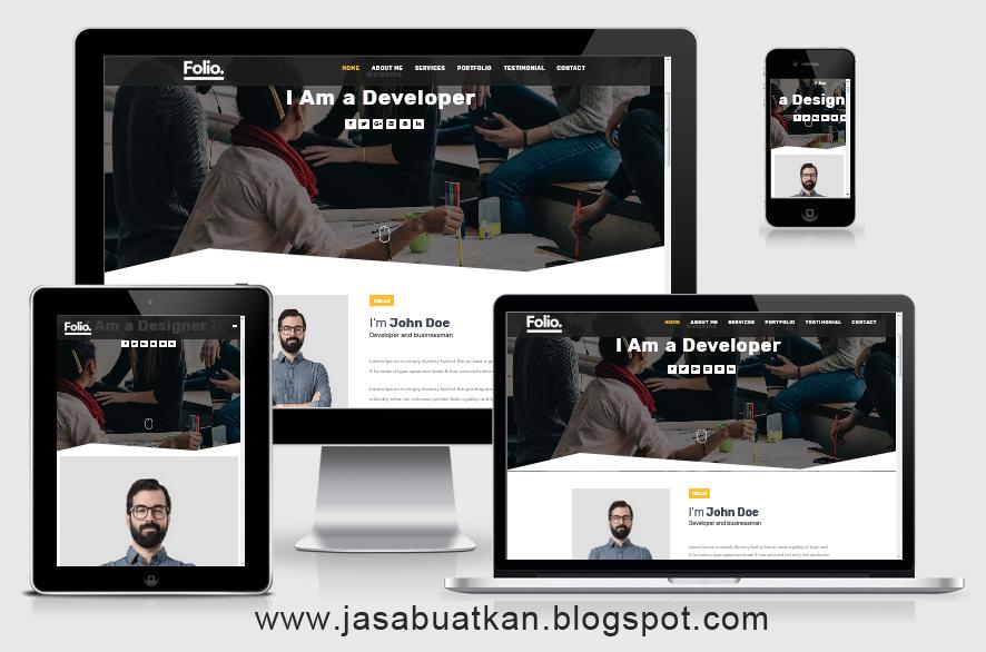 Landing Page Blogspot Murah
