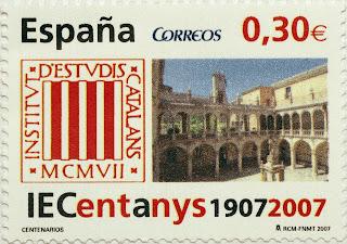 CENTENARIO INSTITUT D´ESTUDIS CATALANS