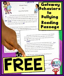 Free social story about bullying in upper elementary school. #TEACHers #antibullying #teachersfollowteachers