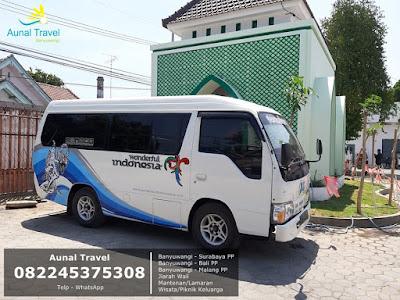 Jasa Travel Banyuwangi Surabaya Malang Bali PP