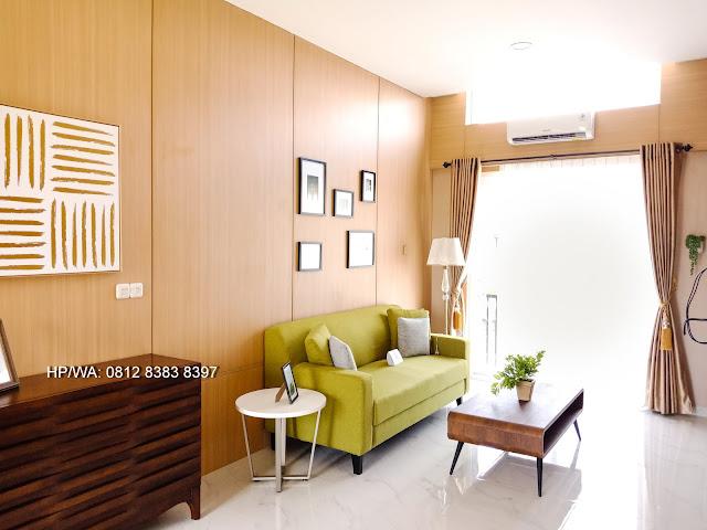 Ruang Keluarga Lantai 2 Rumah Mewah Termurah Siap Huni Villa Casa Royale Di Kompleks Royal Sumatera Medan Sumatera Utara