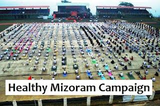 Healthy Mizoram Campaign'