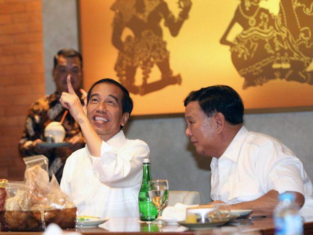 Peran BG hingga JK di Balik Pertemuan Jokowi-Prabowo