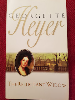 Book cover: The Reluctant Widow by Georgette Heyer