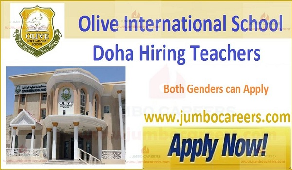 Recent school jobs in Qatar,