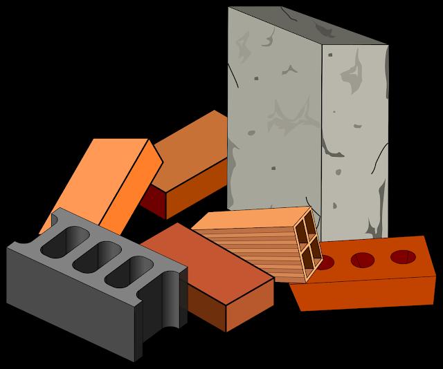 أنواع مواد البناء المستخدمة في أعمال البناء