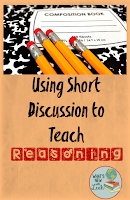 Use Short Discussion to Teach Reasoning