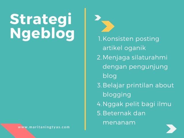 strategi ngeblog untuk meraih pencapaian