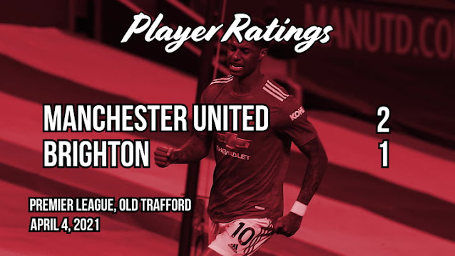 Man United players ratings vs Brighton: Luke Shaw and Harry Maguire solid