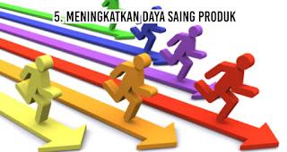 Meningkatkan Daya Saing Produk merupakan salah satu fungsi merchandise untuk kegiatan promosi perusahaan